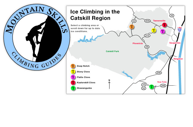 Mountain Skills Logo and Info Graphic